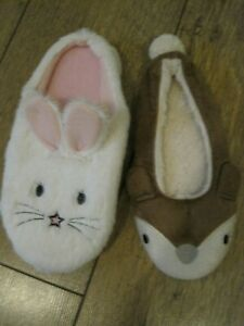 2 Dog Slippers for Your dog to play or chew up cat & mouse X sample Slippers