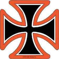 IRON CROSS Black Orange And White Sticker NEW MERCHANDISE RARE