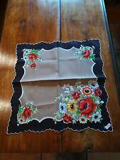"Vintage Ladies ""Handkerchief Of The Month By Burmel As Seen In Vogue"" Label"