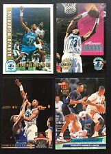 Lot of 4 Alonzo Mourning 1992-93 RCs, Hoops, Skybox, Stadium Club and Ultra