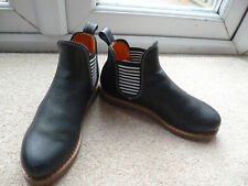PENELOPE CHILVERS BLUE ANKLE BOOTS, 36,3.