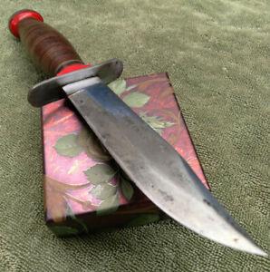 JC Higgins Schrade Walden Bowie Hunter Knife