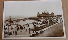 Postcard Childrens Lake Promenade Rhyl Wales Real Photo unposted