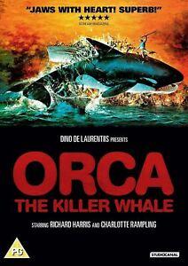 ORCA The Killer Whale (1977) Region 2 [DVD] Richard Harris Bo Derek