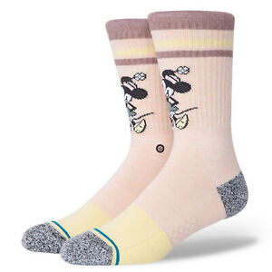 2020 Stance x Vintage Disney Minnie Mouse Socks Large Men's 9-13 Mickey Mouse