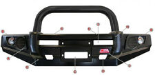 MCC 4WD SINGLE BLACK LOOP STEEL BULLBAR 707-01B NISSAN PATHFINDER R51 05-10