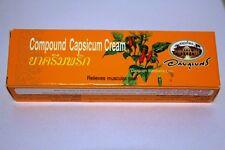 Organic Capsicum Cream - Capsaicin Cream 25g - Heat Cream - Pain Relief
