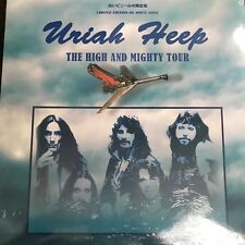 URIAH HEEP - THE HIGH AND MIGHTY TOUR: LIMITED EDITION WHITE VINYL  LP - NEW