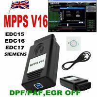 MPPS V16 ECU Flasher Chip Tuning Remapping Tool for EDC15 EDC16 EDC17 MED9.x ME7