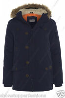 NEW BOYS PARKA JACKET COAT HOODED Boy Padded CLOTHING AGE 7 to 13 Shower proof