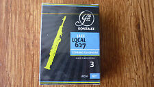 Gonzalez Jazz Local 627 Soprano Sax Reed