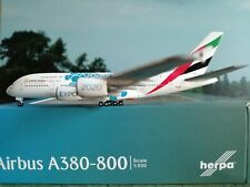 """Herpa Wings 1:500 Emirates Airbus A380 Expo 2020 Dubai """"Mobility"""" Livery 533713"""
