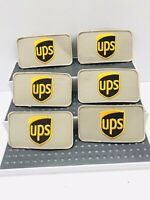 Vintage UPS LOGO Manufacturer company embroidered patch Lot Of 6