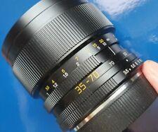 LEICA VARIO-ELMAR-R 35-70mm f/3.5 Lens Eccellenti Condizioni. OCCASIONE!!!