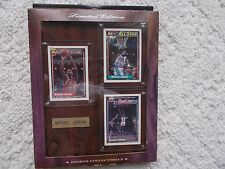 Michael Jordan Rare Limited Edition Plaque Cards All star Highlight Collectable