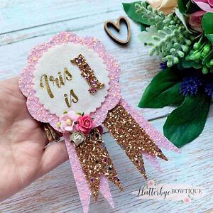 Personalised Birthday Badge, Celebration Rosette, Age Badge