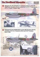 Print Scale Decals 1/48 DE HAVILLAND MOSQUITO British WWII Fighter Bomber