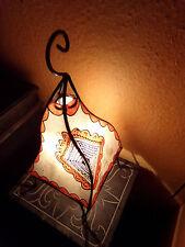 Märchenhafte, orientalische Tischlampe aus Marokko Nr. 3c NEU