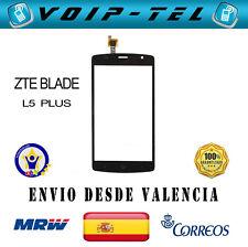 PANTALLA TACTIL ZTE BLADE L5 PLUS L 5 + TOUCH DISPLAY DIGITALIZADOR NEGRO