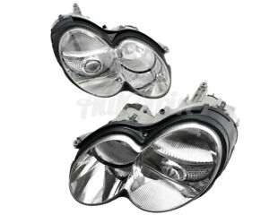 MERCEDES BENZ SL CLASS R230 ROADSTER XENON HEADLIGHT LEFT & RIGHT SIDE OEM NEW