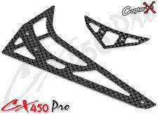 CopterX Spare Part CX450PRO-06-04 Carbon Fiber Stabilizer Set 450 PRO