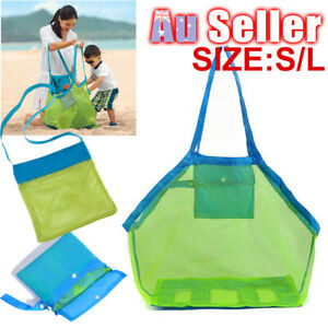 Sand-away Toys Bags Carrying Tote Extra Mesh Large Swimming Pool Bag Beach