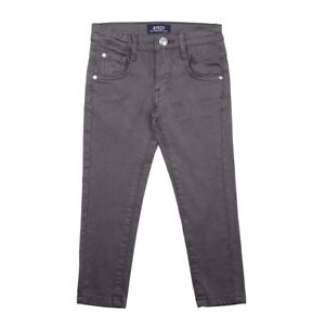 BNWT AYGEY Beautiful Boys Grey Chinoes Trousers Slim Fit - 2 Years