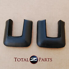 Datsun 240z Rear Bumper End Rubber Filler Caps Pair *NOS*