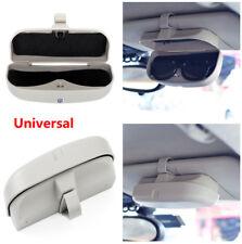 Universal High Quality Plastic Sun Visor Sunglasses Glasses Case Storage for Car