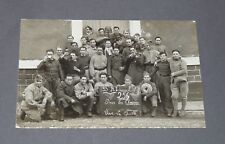CPA 1919-1939 CARTE PHOTO CONSCRITS MILITARIA SERVICE MILITAIRE