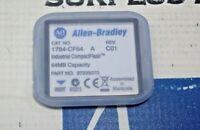ALLEN BRADLEY 1784-CF64 A REV C01 INDUSTRIAL COMPACT FLASH 64MB NEW