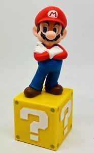 Nintendo Super Mario - Mario on Question Mark Box 5 inch Statue (Paper Weight)