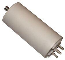 Condensateur permanent de travail pour moteur 25µF 450V avec cosses 6,3mm