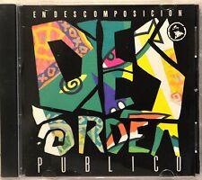 Desorden Publico En Descomposicion RARE CD NICE Latin Rock Ska Reggae Spanish