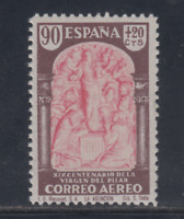 ESPAÑA (1940) MNH NUEVO SIN FIJASELLOS -EDIFIL 908 (90 cts+20 cts) PILAR LOTE 2