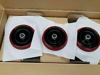 Genuine Fiat 124 Spider RED Air Vent Kit (Set of Three) 71807615