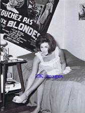 JANNY CLAIR Blonde Affiche Brune Cloche Disque 1960