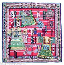 Elegant Handmade 100%Twill Silk Scarf TWIC-169246E