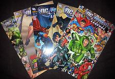 DC UNIVERSE ONLINE LEGENDS (deutsch) # 1+2+3+4+5 KOMPLETT - PANINI 2011 / 2012