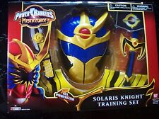 Power Rangers Mystic Force Solaris Knight Training Set Ages 4+ Vintage