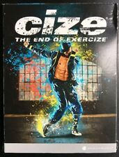 CIZE The End of Exercise DANCE & FITNESS WORKOUT 6 DVD SET with EAT UP