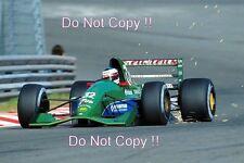 Michael Schumacher Jordan 191 belga Grand Prix 1991 fotografía 8