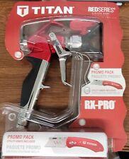 Genuine Titan Rx Pro Red Series Airless Spray Gun