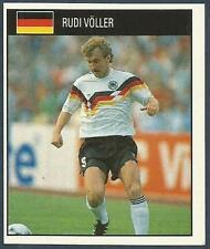 ORBIS 1990 WORLD CUP COLLECTION-#074-GERMANY-RUDI VOLLER