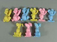 SPIELZEUG: Disney-Radierer - alle 9 versch. Goofy, Donald und Micky