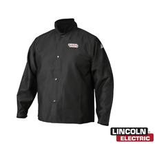 Lincoln Electric K2985 Mtraditonal Flame Retardant Cloth Welding Jacket Size M