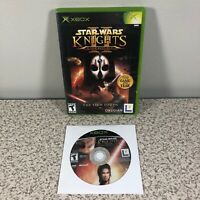 Star Wars Knights of the Old Republic I & II Sith Lords KOTOR Original Xbox Lot