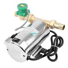 90W Household Booster Pump Stainless Steel Boost Water Pressure Pump for Shower