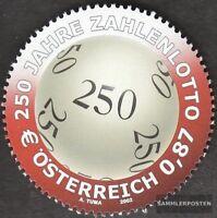 Österreich 2396 (kompl.Ausg.) postfrisch 2002 250 Jahre Zahlenlotto