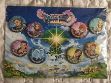 Dragon Quest XI esquivo Age oficial Juego de 8 insignias promocional ** nuevo **
